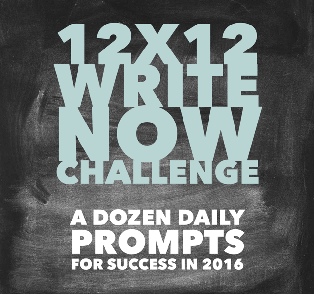 Are you up for a writing challenge?