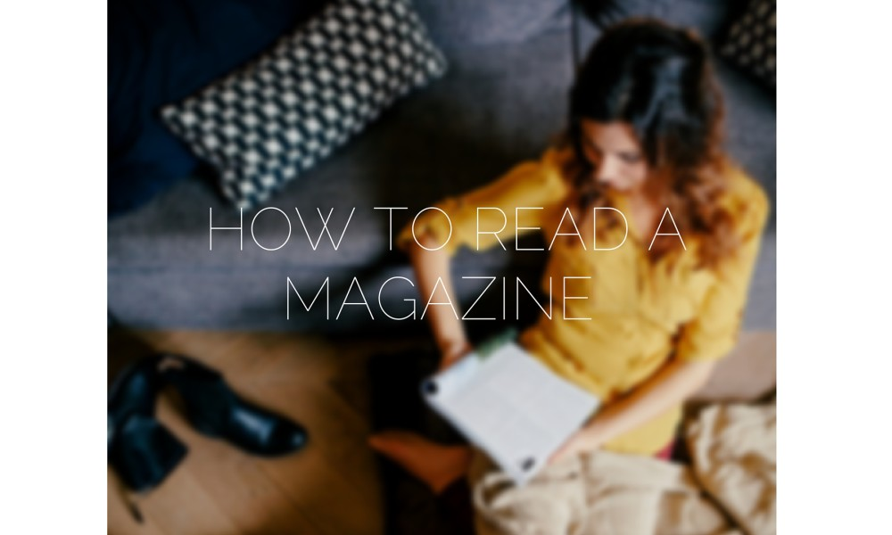 How to read a publication like your future editor wants you to