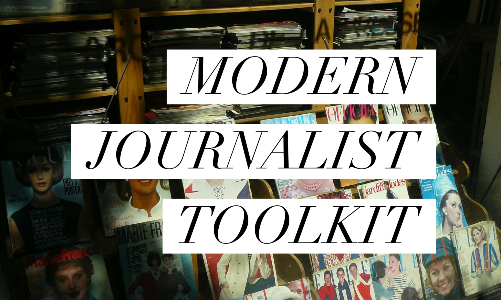 Introducing the Modern Journalist Toolkit