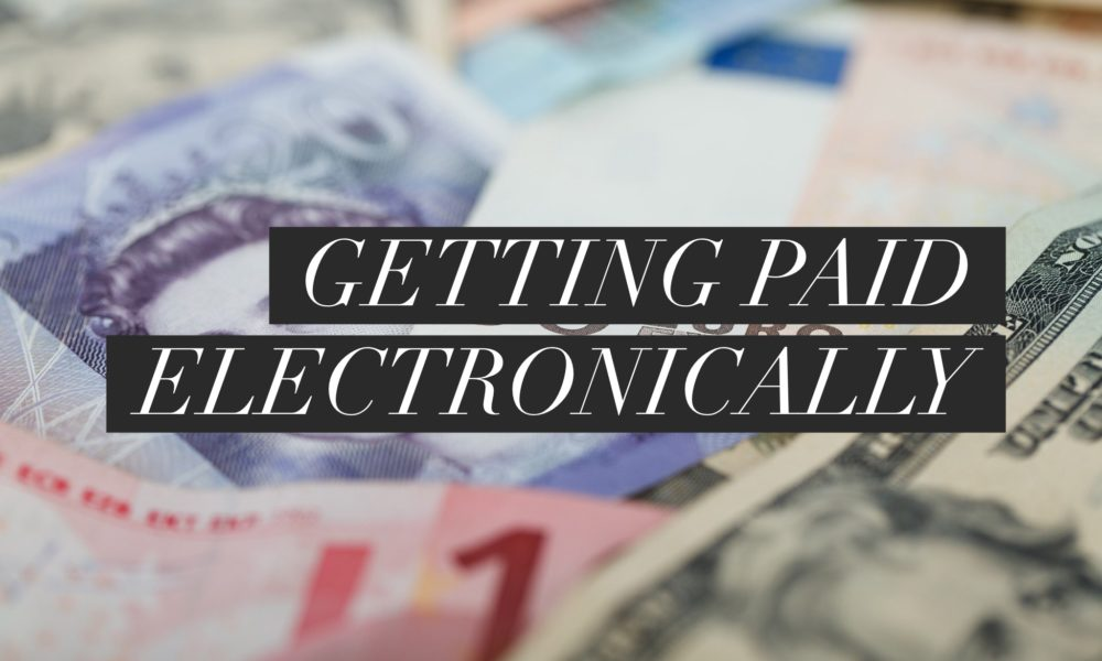 Modern Journalist Toolkit 2: Getting paid electronically