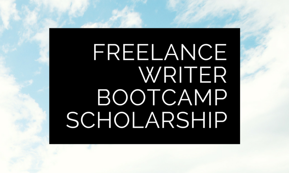 The next round of Freelance Writer Bootcamp is on me (for one of you)